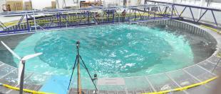 Complex EMEC recreation at FloWave